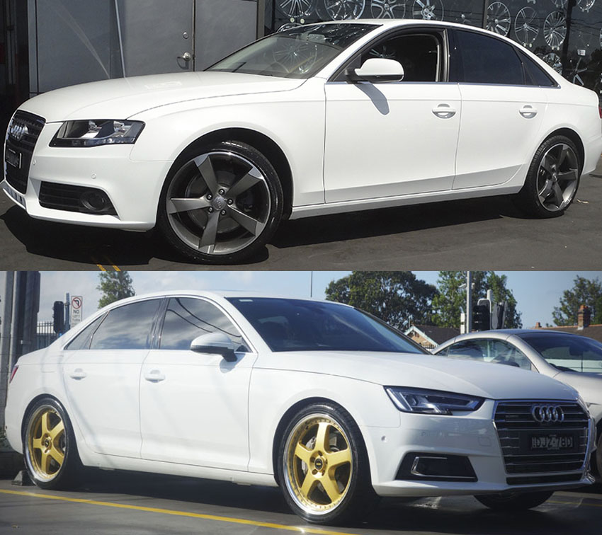Audi A4 Tires Recommended: Audi A4 Wheels And Rims