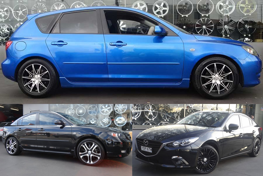 Get Your Next Set Of Mazda 3 Wheels From Tempe Tyres Today!