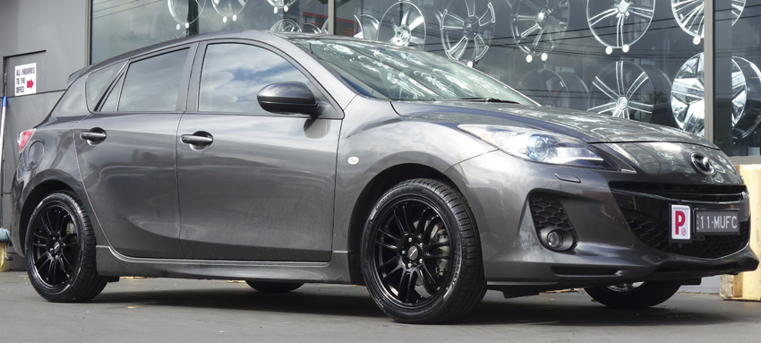 Marvelous Stand Out And Make Your Mazda 3 One Of A Kind With A Range Of Wheels, Rims  And Mags In Variety Of Sizes And Colours Available At Tempe Tyres.