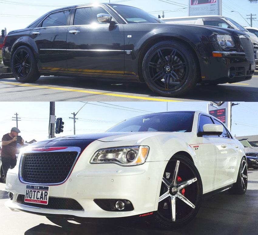 Chrysler 300C Wheels And Rims