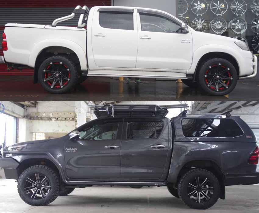 Toyota Hilux Mag Wheels Rims Blog Tempe Tyres