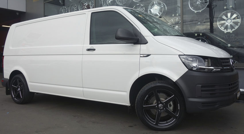 Vw t6 wheels and tyres for sale