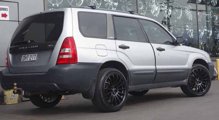 Subaru Forester Wheels and Rims - Blog - Tempe Tyres