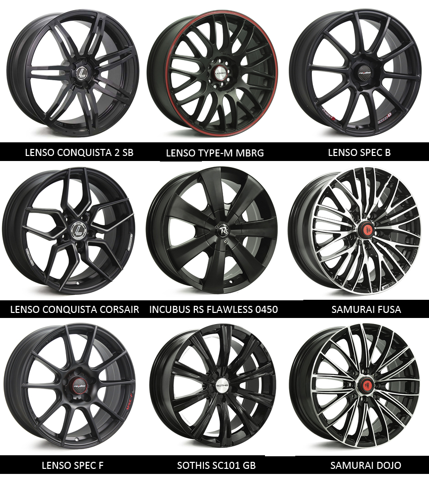 products rear black beadlock for rt weld bs supra wheels toyota s