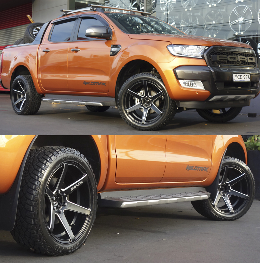 Ford Ranger Wheels : Ford ranger and holden commdoore wheels tempe tyres