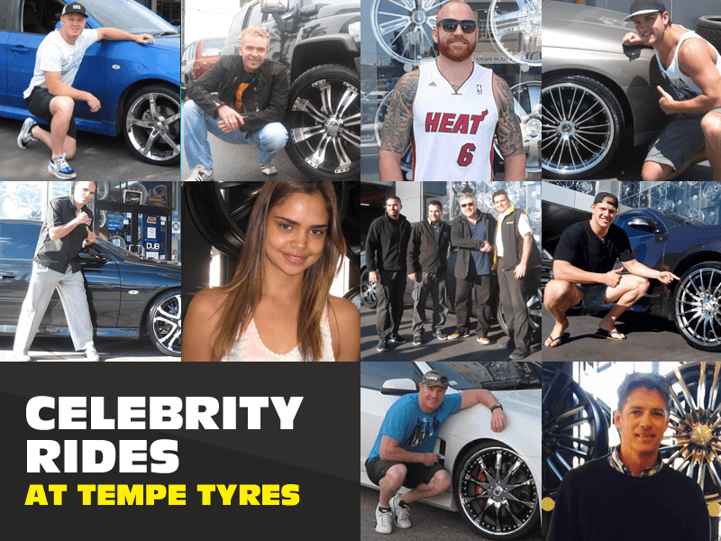 Celebrity Rides at Tempe Tyres