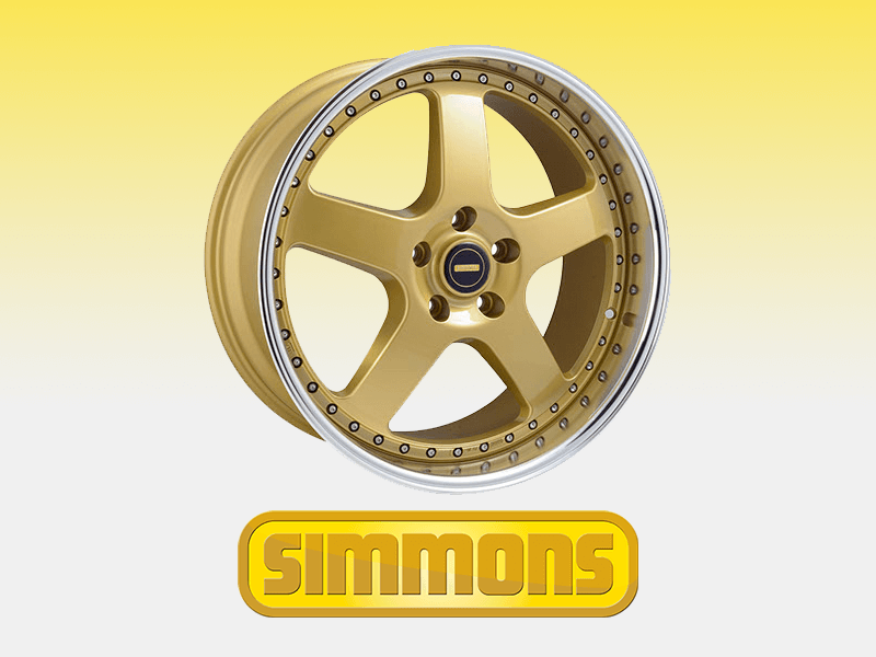 Buy Custom Simmons Wheels