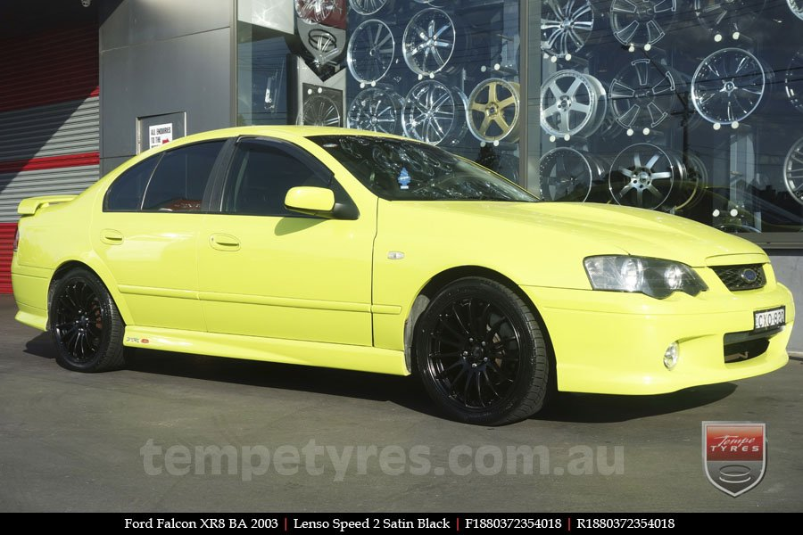18x8.0 Lenso Speed 2 SP2 on FORD FALCON