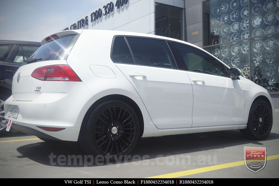 18x8.0 Lenso Como - MB on VW GOLF TSI