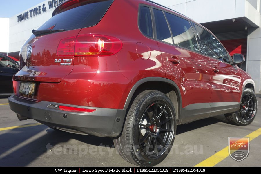18x8.5 Lenso Spec F MB on VW TIGUAN