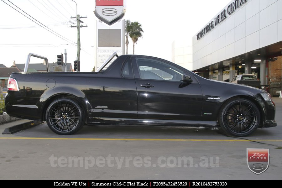 20x8.5 20x10 Simmons OM-C FB on HOLDEN COMMODORE VE UTE