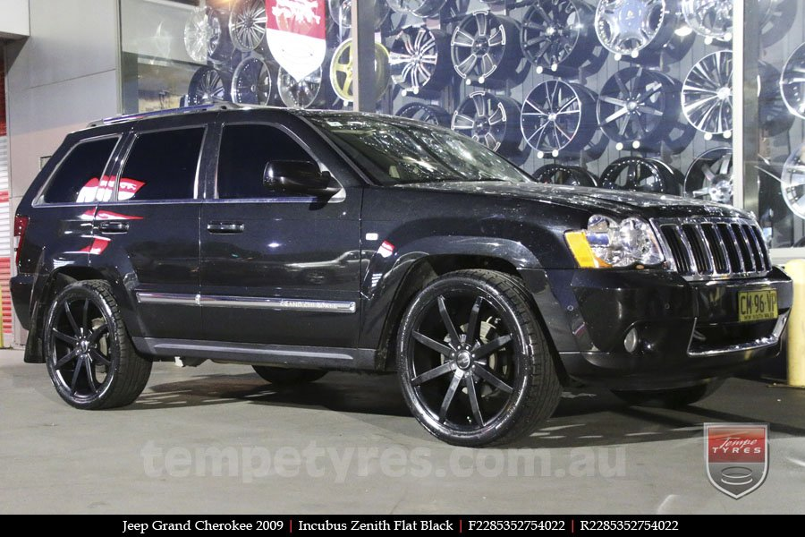 22x8.5 Incubus Zenith - FB on JEEP GRAND CHEROKEE