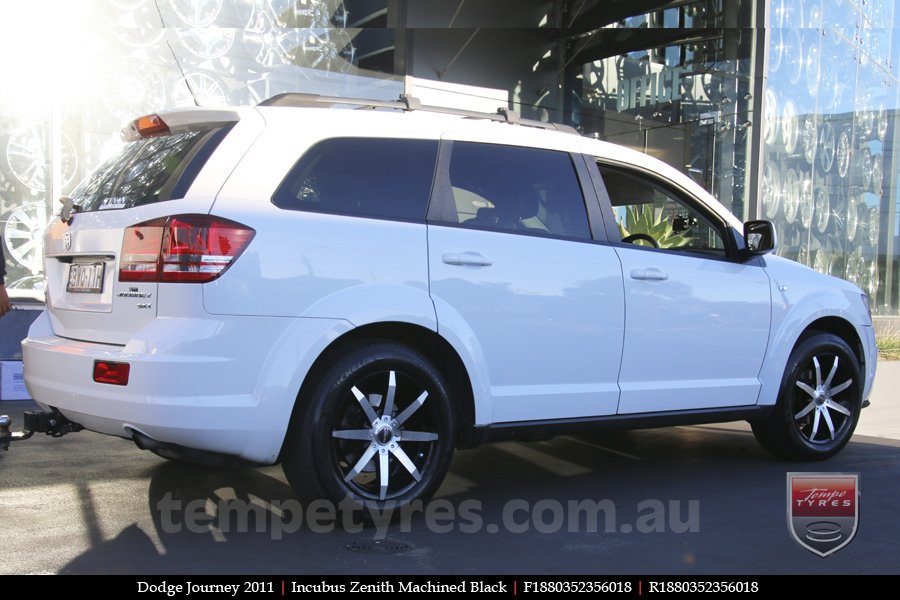 18x8.0 Incubus Zenith - MB on DODGE JOURNEY