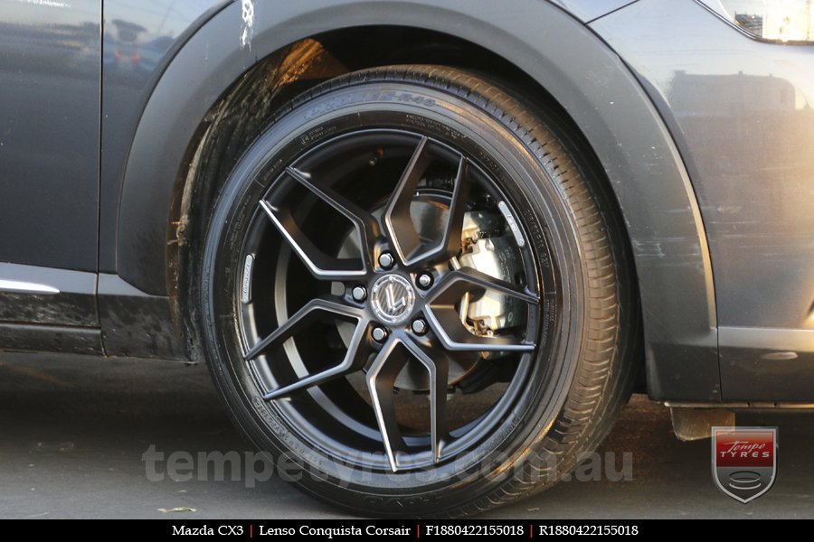 18x8.0 Lenso Conquista Corsair CQC on MAZDA CX3