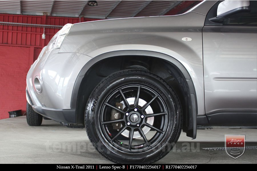 17x7.0 Lenso Spec B MB on NISSAN X-TRAIL