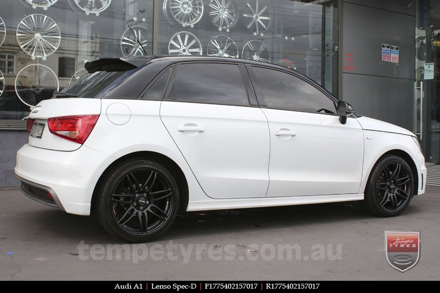 17x7.5 Lenso Spec D MB on AUDI A1