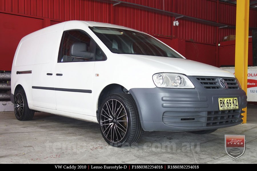 18x8.0 Lenso Eurostyle D ESD on VW CADDY