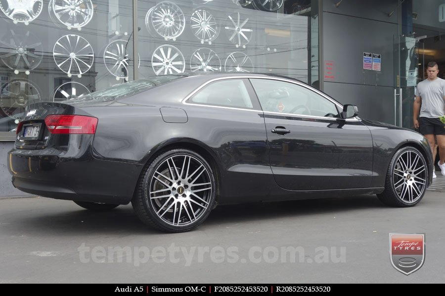20x8.5 20x10 Simmons OM-C BM on AUDI A5