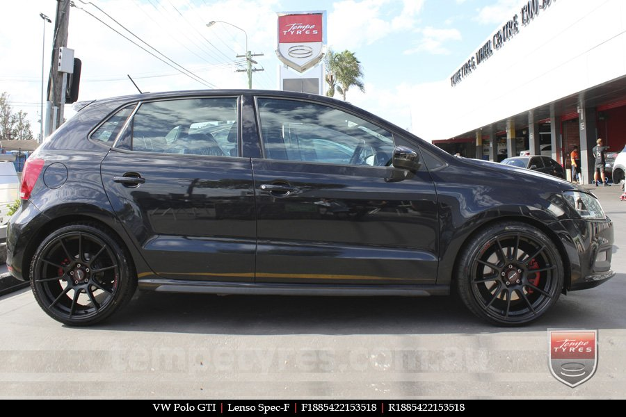 18x8.5 Lenso Spec F MB on VW POLO