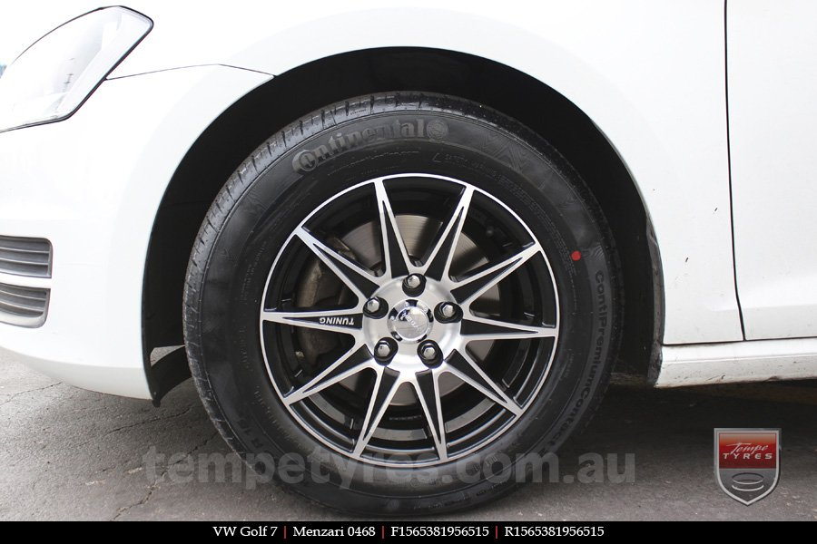 15x6.5 Menzari 0468 on VW GOLF 7