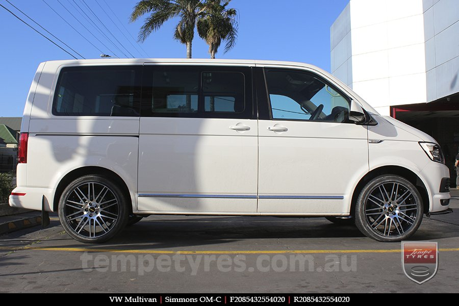 20x8.5 20x10 Simmons OM-C BM on VW MULTIVAN