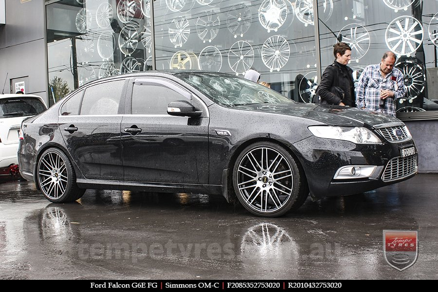 20x8.5 20x10 Simmons OM-C BM on FORD FALCON