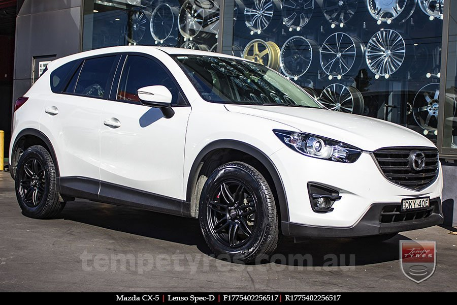 17x7.5 Lenso Spec D MB on MAZDA CX5