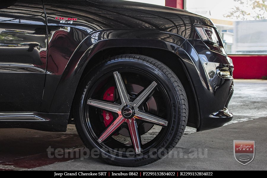 22x9.5 Incubus 842 on JEEP GRAND CHEROKEE