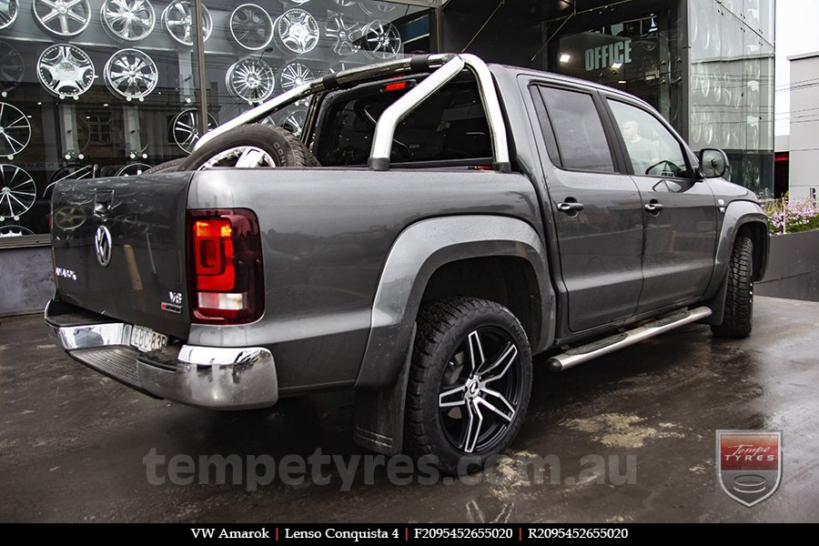 20x8.5 20x9.5 Lenso Conquista 4 CQ4 on VW AMAROK