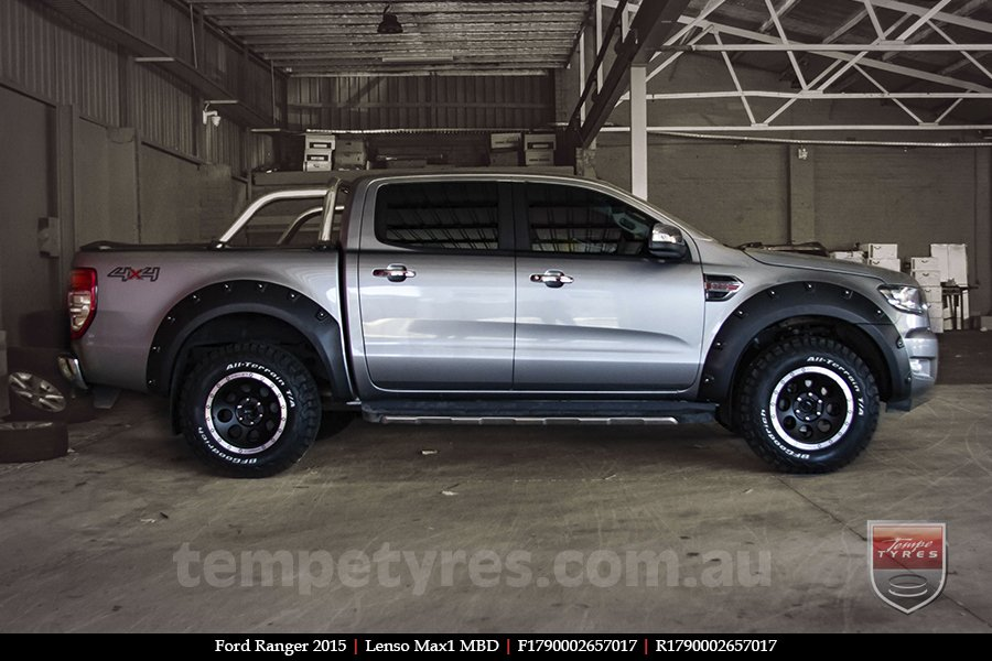 17x9.0 Lenso Max1 MBD on FORD RANGER