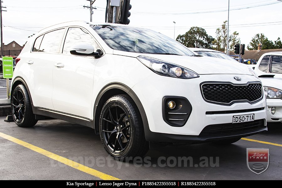18x8.5 Lenso Jager Dyna on KIA SPORTAGE