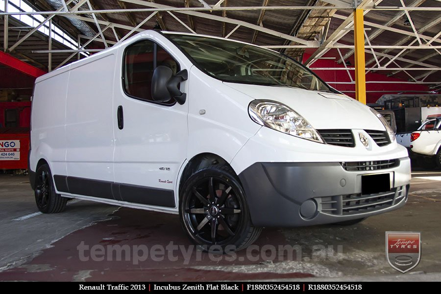 18x8.0 Incubus Zenith - FB on RENAULT TRAFFIC