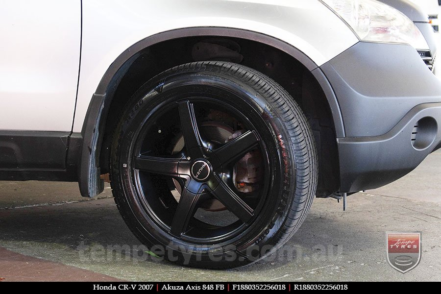 18x8.0 Akuza Axis 848 FB on HONDA CRV