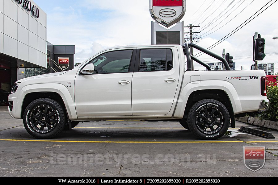 20x9.5 Lenso Intimidator 8 IM8 on VW AMAROK