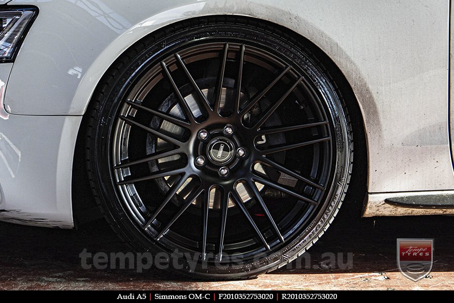 20x8.5 20x10 Simmons OM-C FB on AUDI A5
