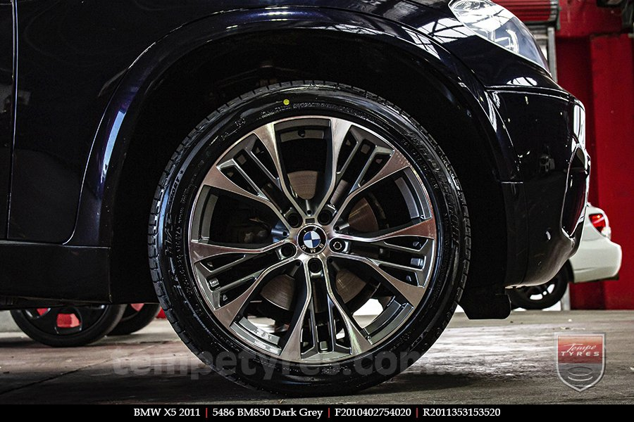 20x10 20x11 5486 BM850 Dark Grey on BMW X5