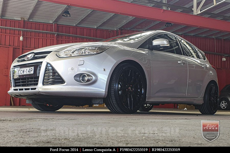 19x8.5 19x9.5 Lenso Conquista A CQA MK  on FORD FOCUS