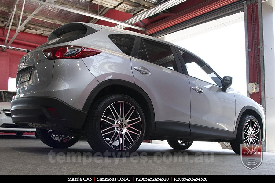 20x8.5 20x10 Simmons OM-C BM on MAZDA CX5