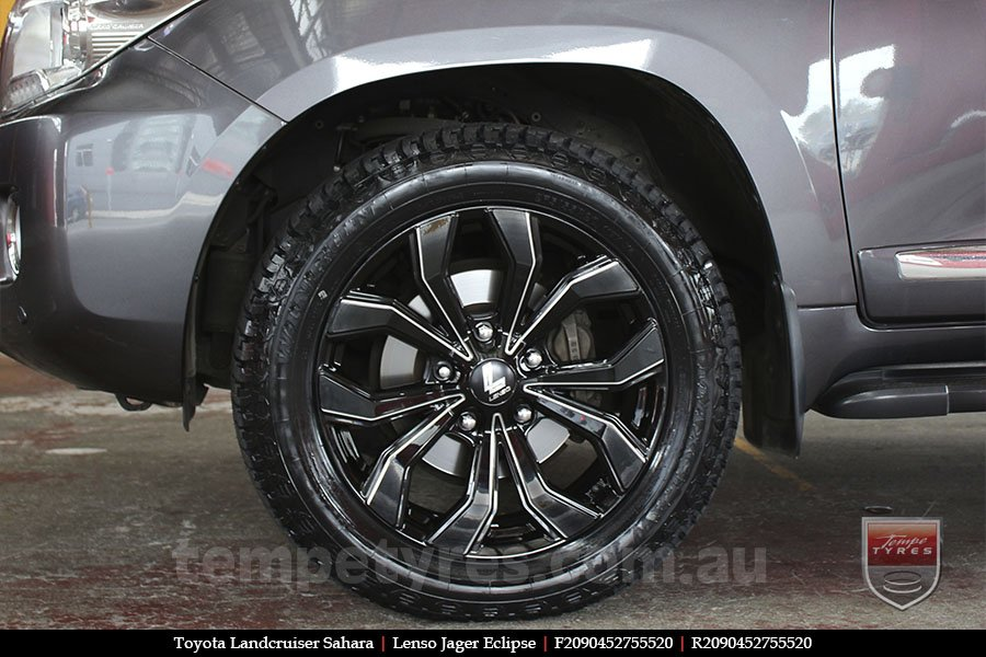 20x9.0 Lenso Jager Eclipse on TOYOTA LANDCRUISER SAHARA