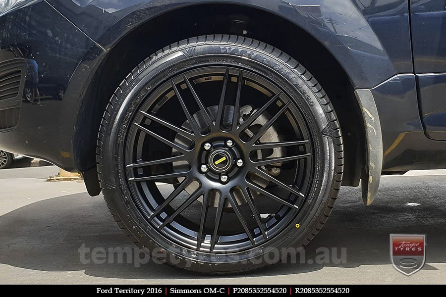 20x8.5 20x10 Simmons OM-C FB on FORD TERRITORY