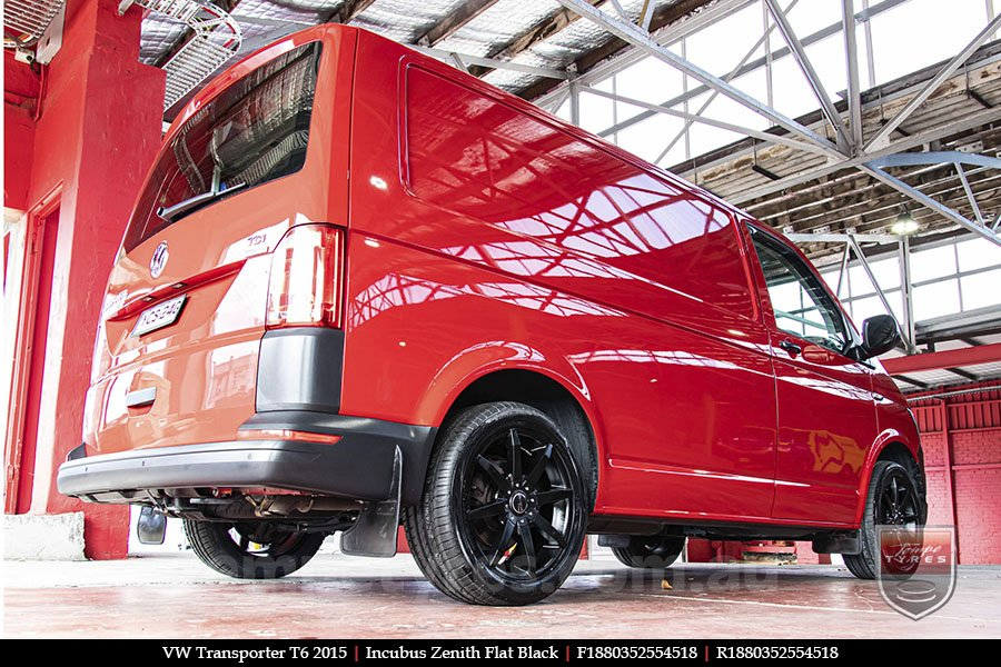 18x8.0 Incubus Zenith - FB on VW TRANSPORTER