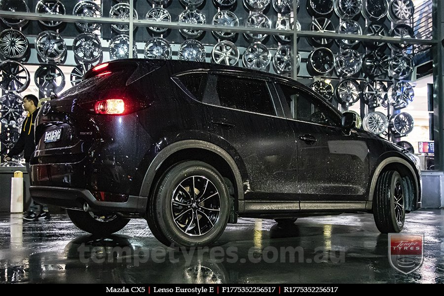 17x7.5 Lenso Eurostyle E ESE on MAZDA CX5
