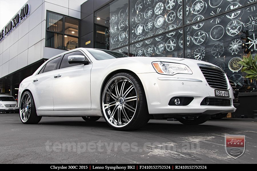 24x10 Lenso Symphony - BKI on CHRYSLER 300C