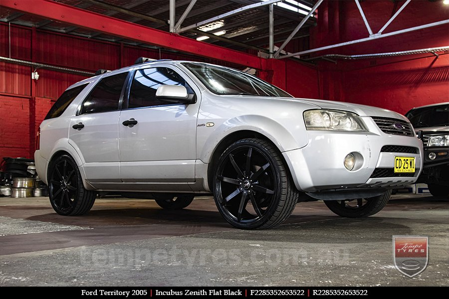 22x8.5 Incubus Zenith - FB on FORD TERRITORY