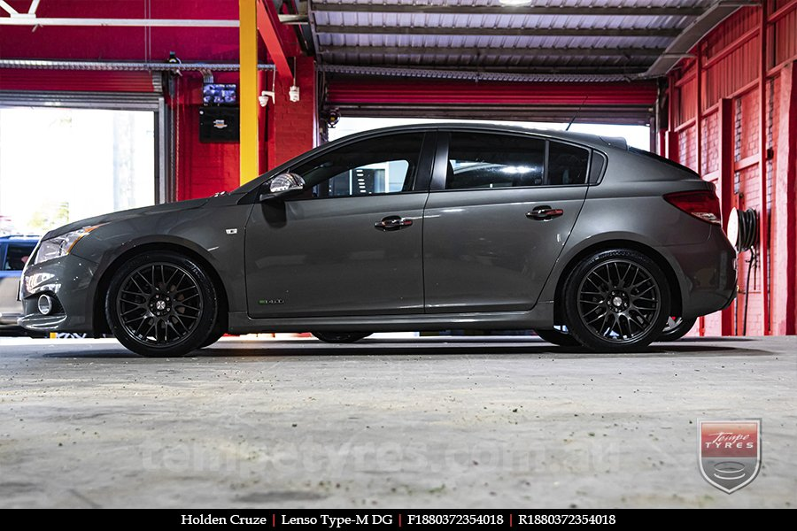 18x8.0 Lenso Type-M DG on HOLDEN CRUZE