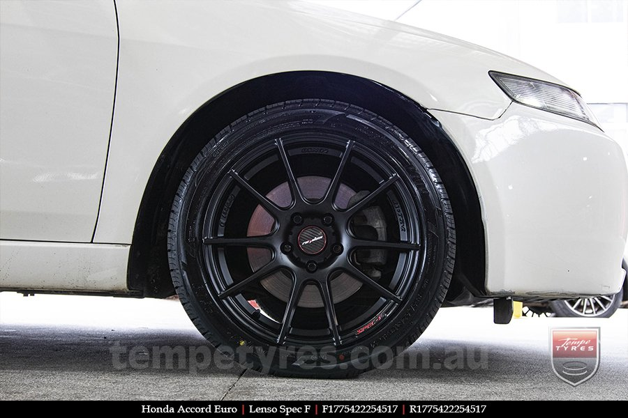 17x7.5 Lenso Spec F MB on HONDA ACCORD EURO