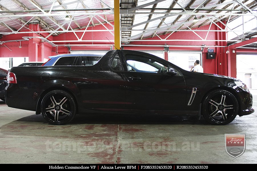 20x8.5 Akuza Lever BFM on HOLDEN COMMODORE VF