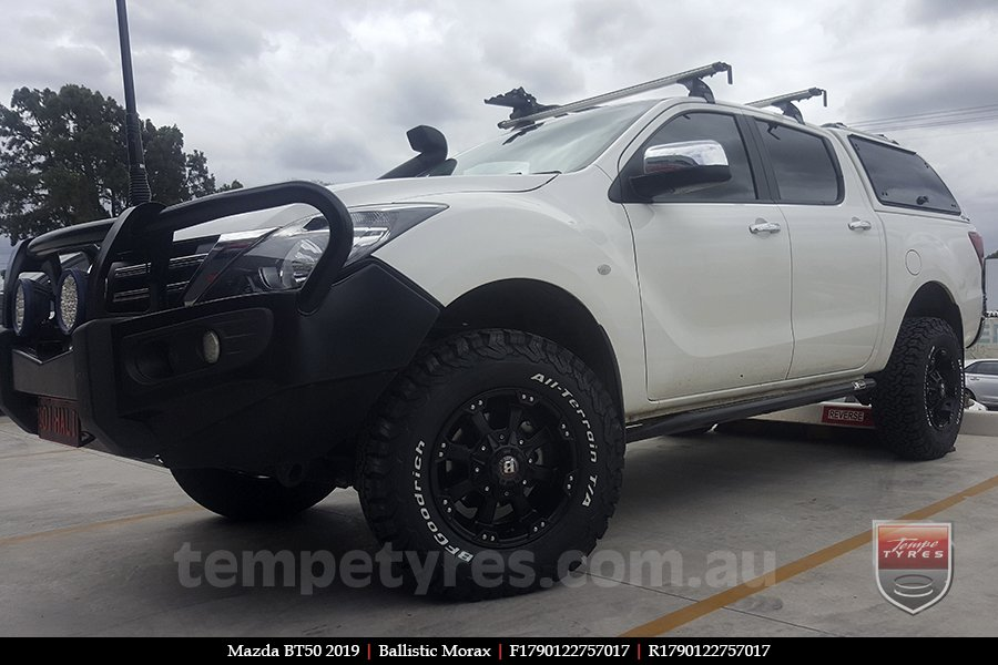 17x9.0 Ballistic Morax on MAZDA BT50