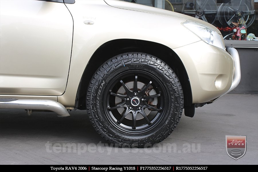 17x7.5 Starcorp Racing Y1018 on TOYOTA RAV4