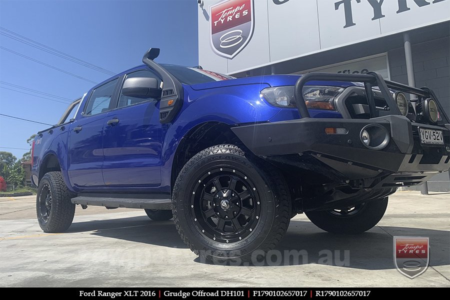 17x9.0 Grudge Offroad DH101 on FORD RANGER
